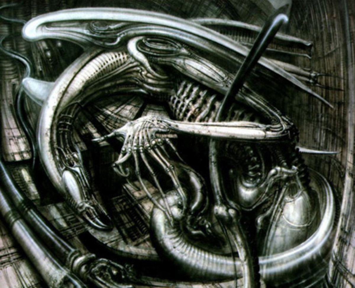 The Tortured Genius of H.R. Giger