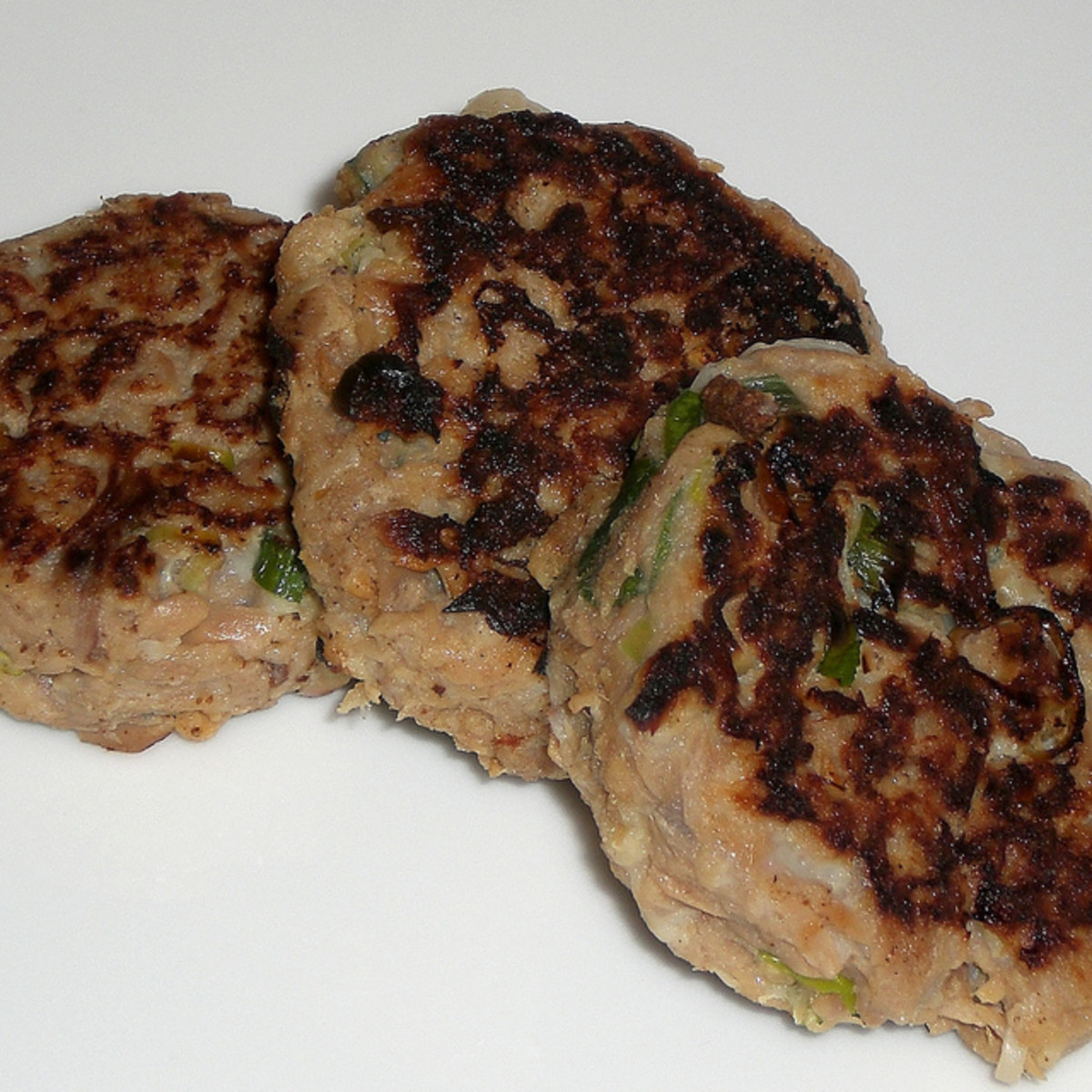 Grilled Tuna Patties