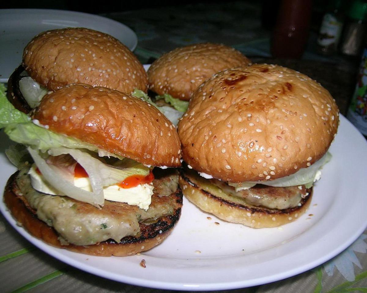 Grilled Tuna Burgers