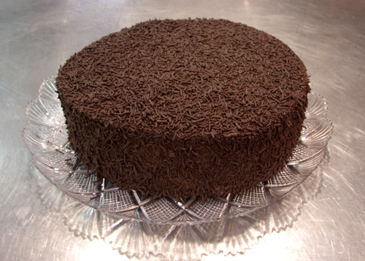 How To Make Brigadeiro Cake