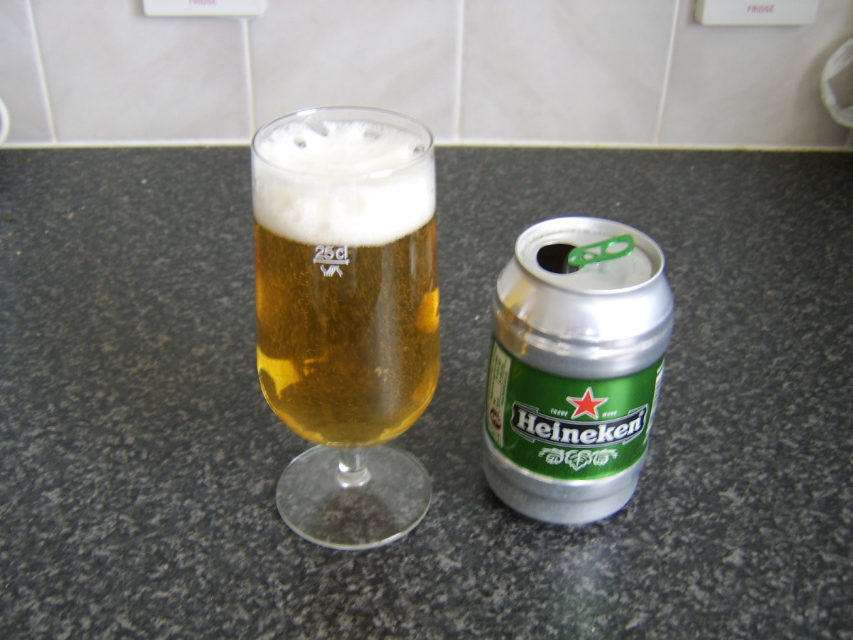 Heineken is a popular imported beer in Morocco