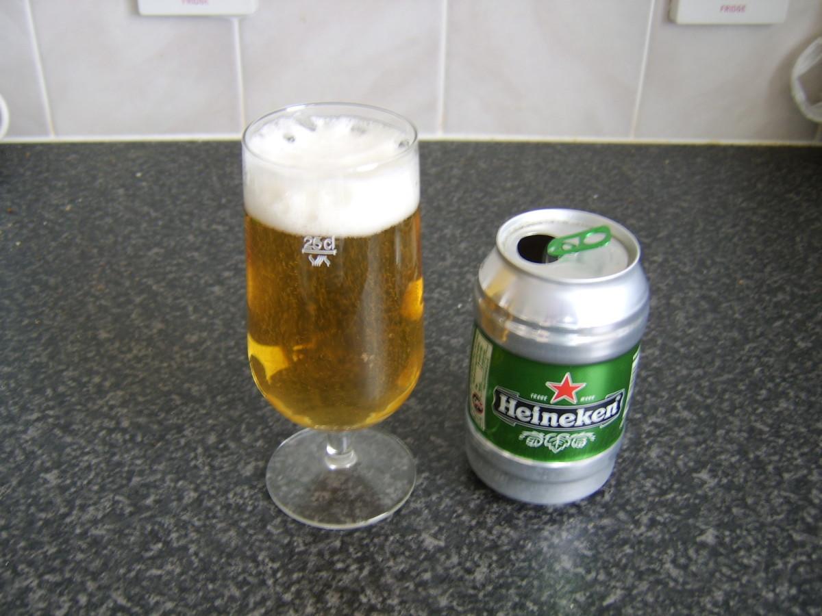 Heineken is a popular imported beer in Morocco