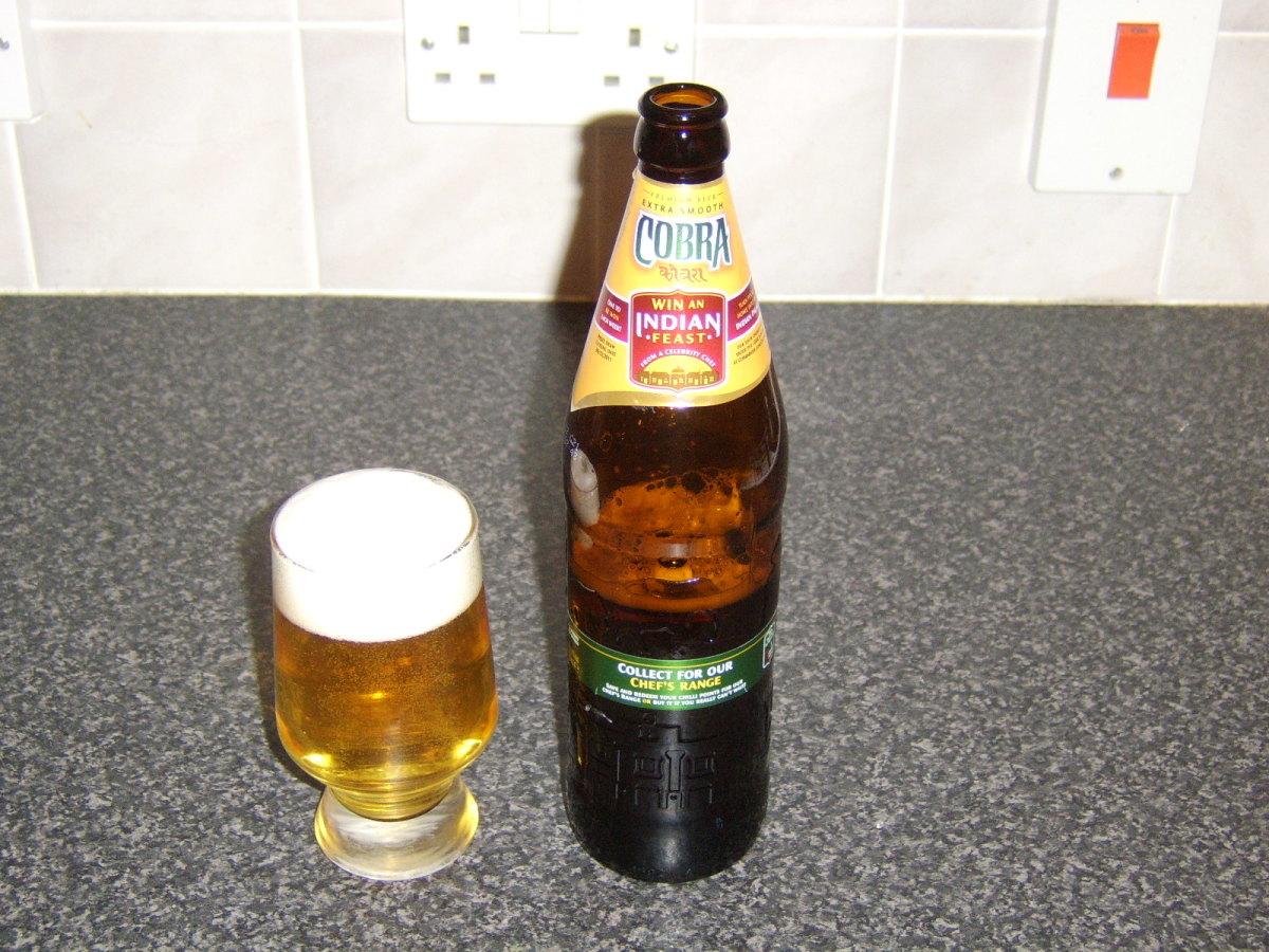 Cobra Indian beer