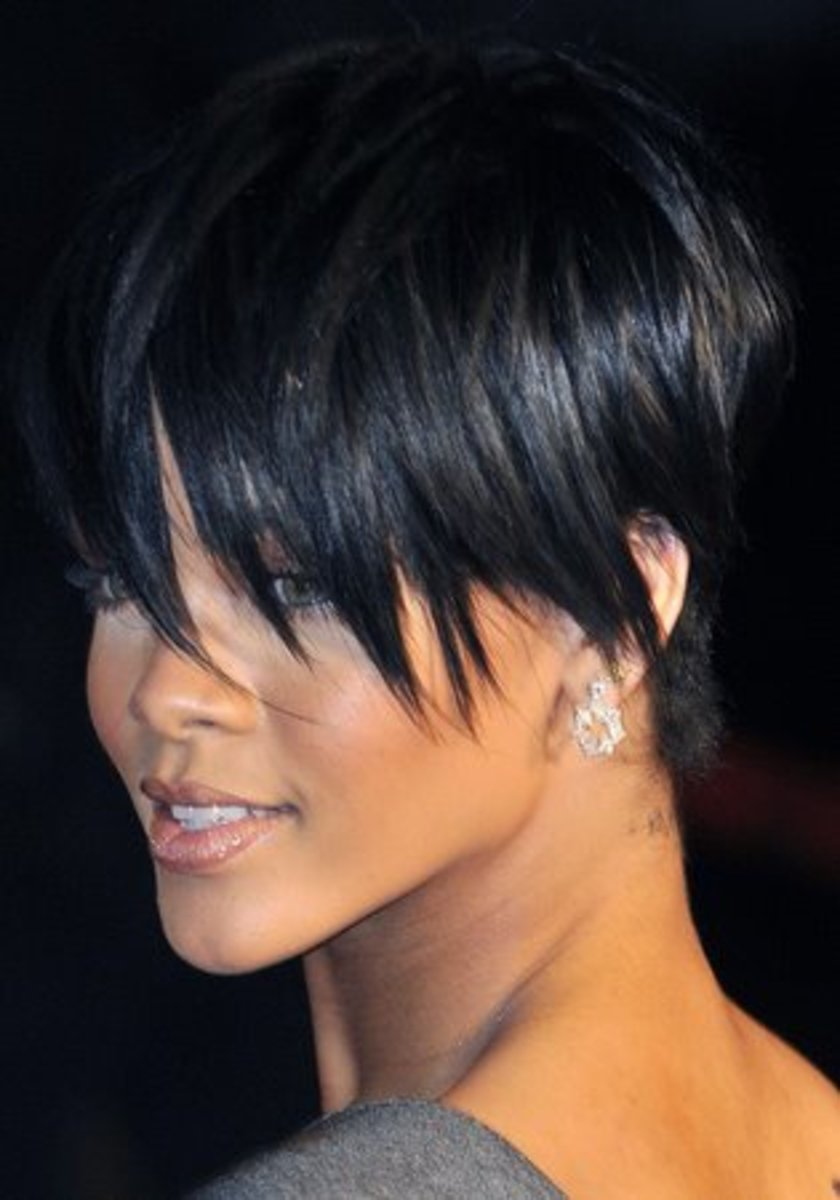 Short pixie haircut 2015 for women