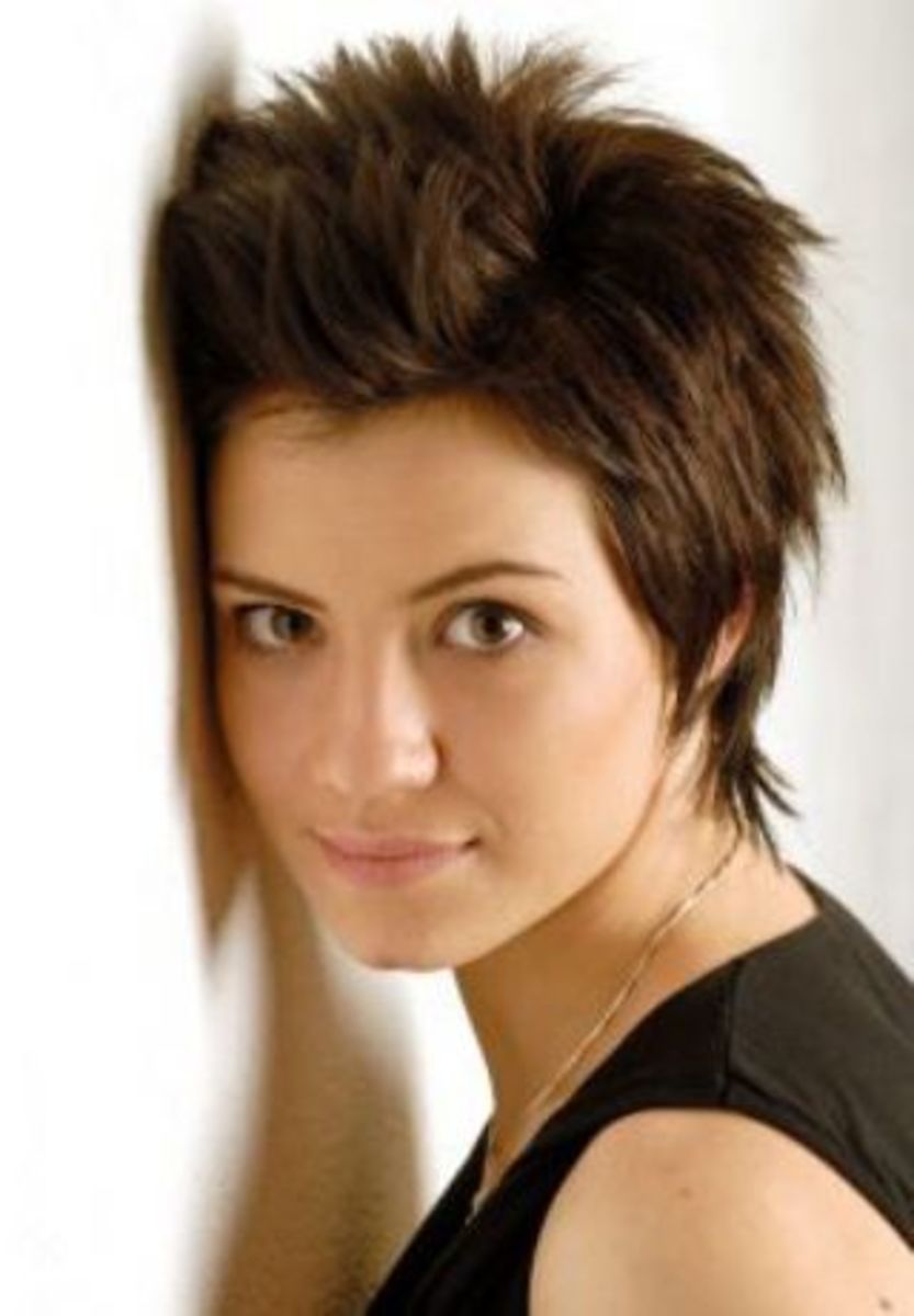 short pixie haircut  styles for girls