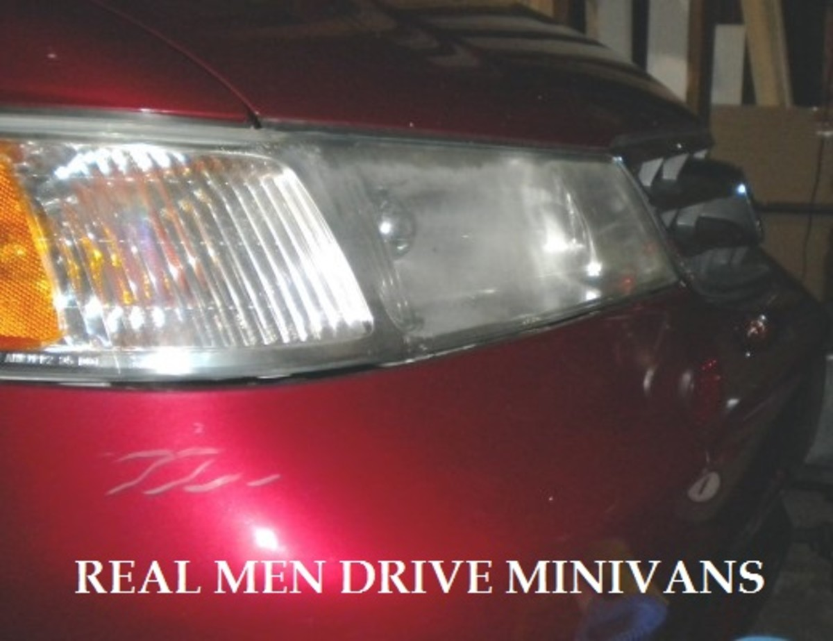 The Manly Awesomeness of Driving a Minivan
