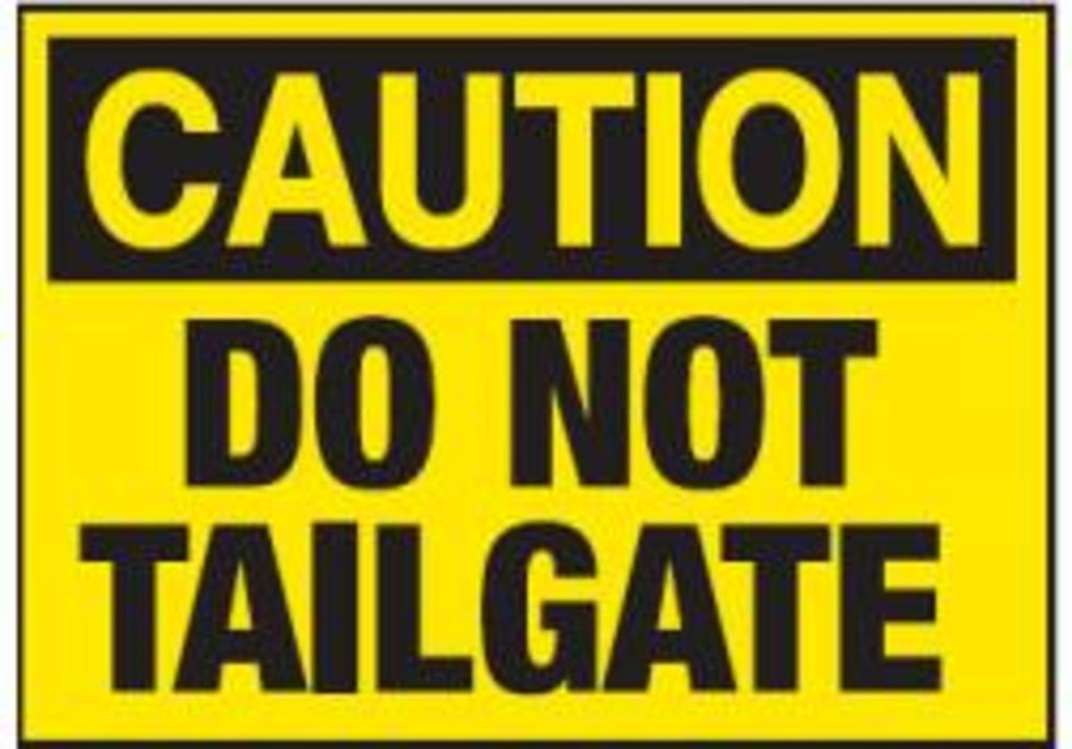How to Deter Tailgaters and Bully Drivers from Tailgating