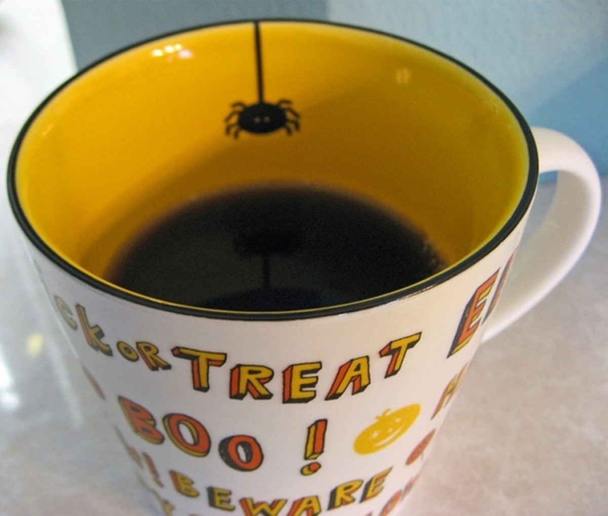 Starbucks Trick or Treat Spider Mug