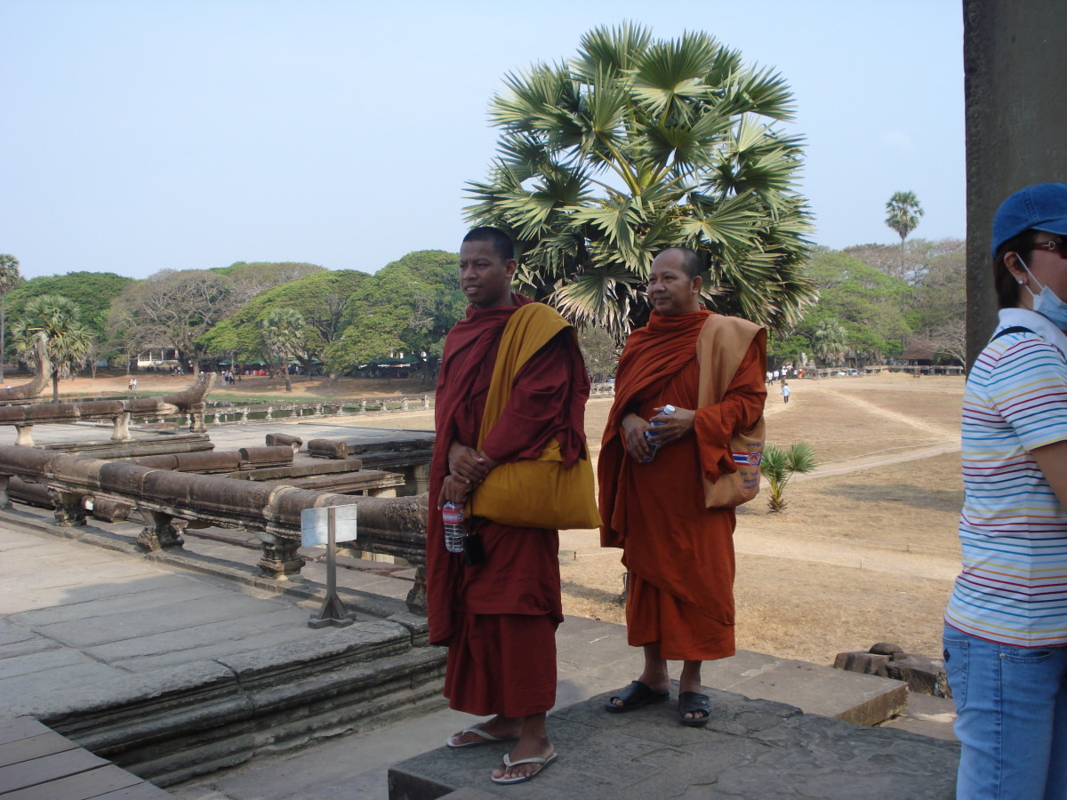Cambodian Buddhist Monks