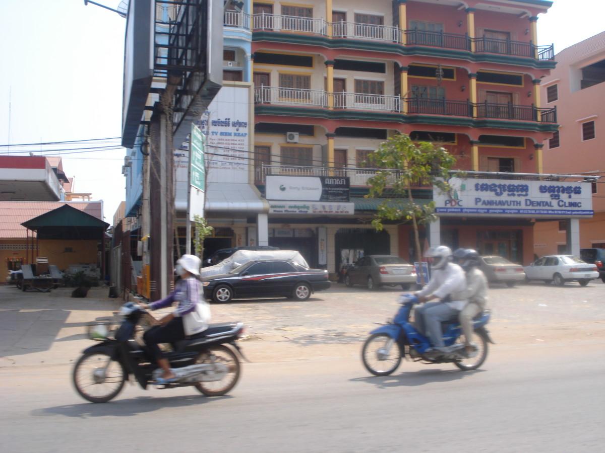 Most Common Method of Transportation in Cambodia Srok Khmer