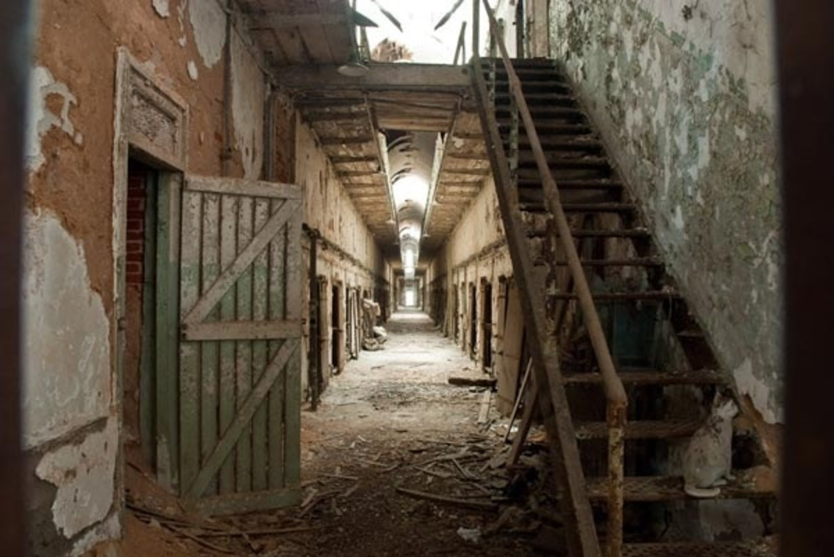 Haunted places in America. Eastern State Penitentiary
