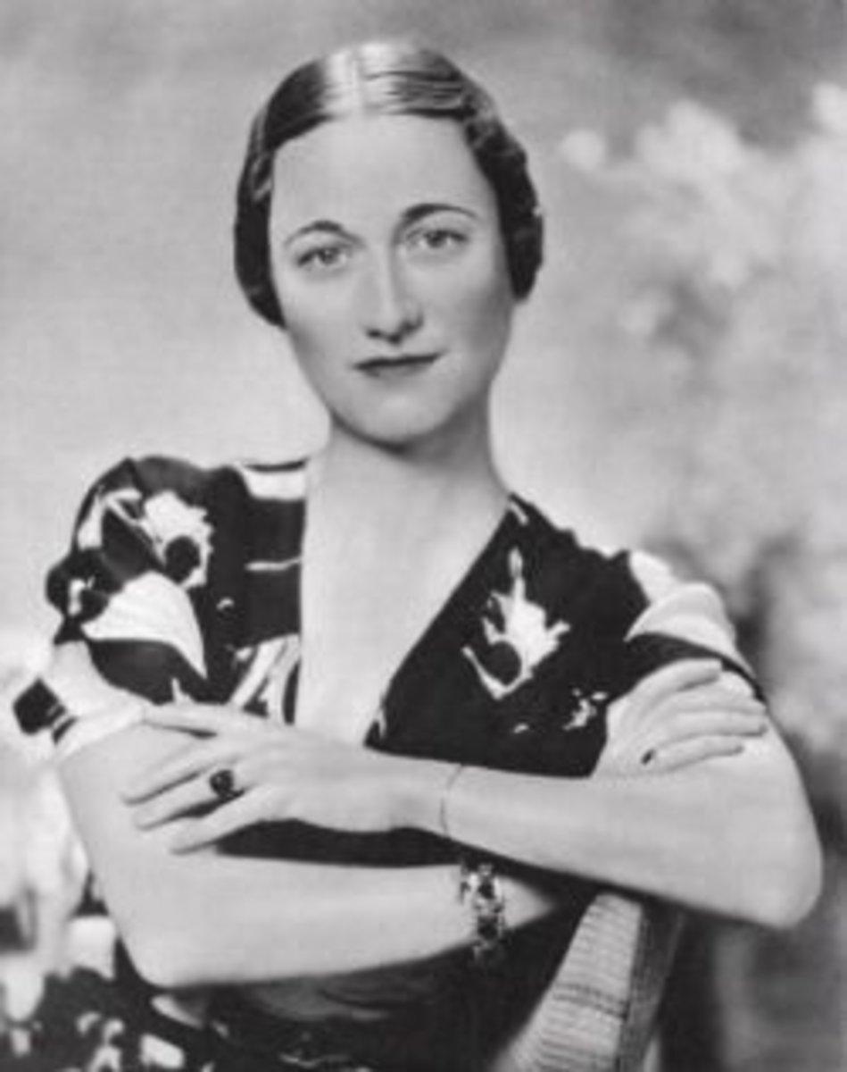 Wallis Simpson, circa 1936, age 40.