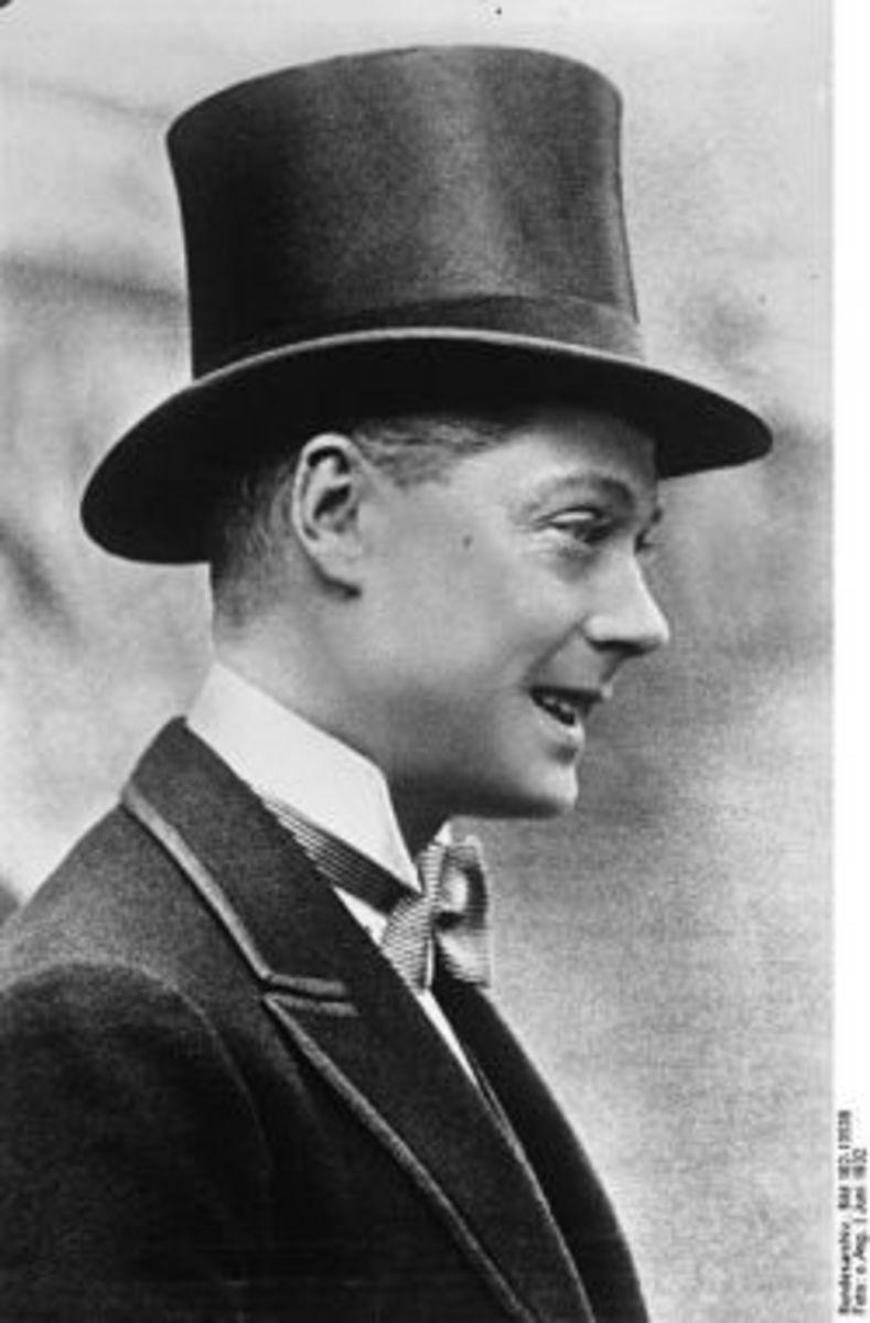 Edward, Prince of Wales circa 1932