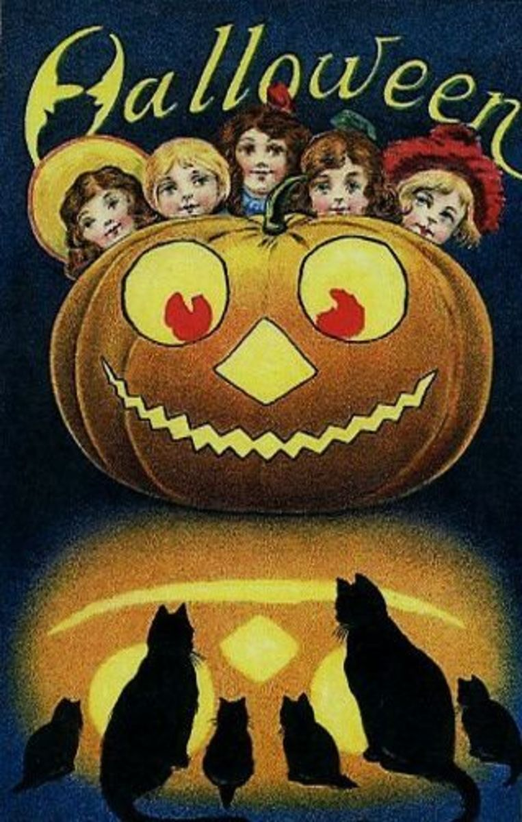 Glowing Halloween Children