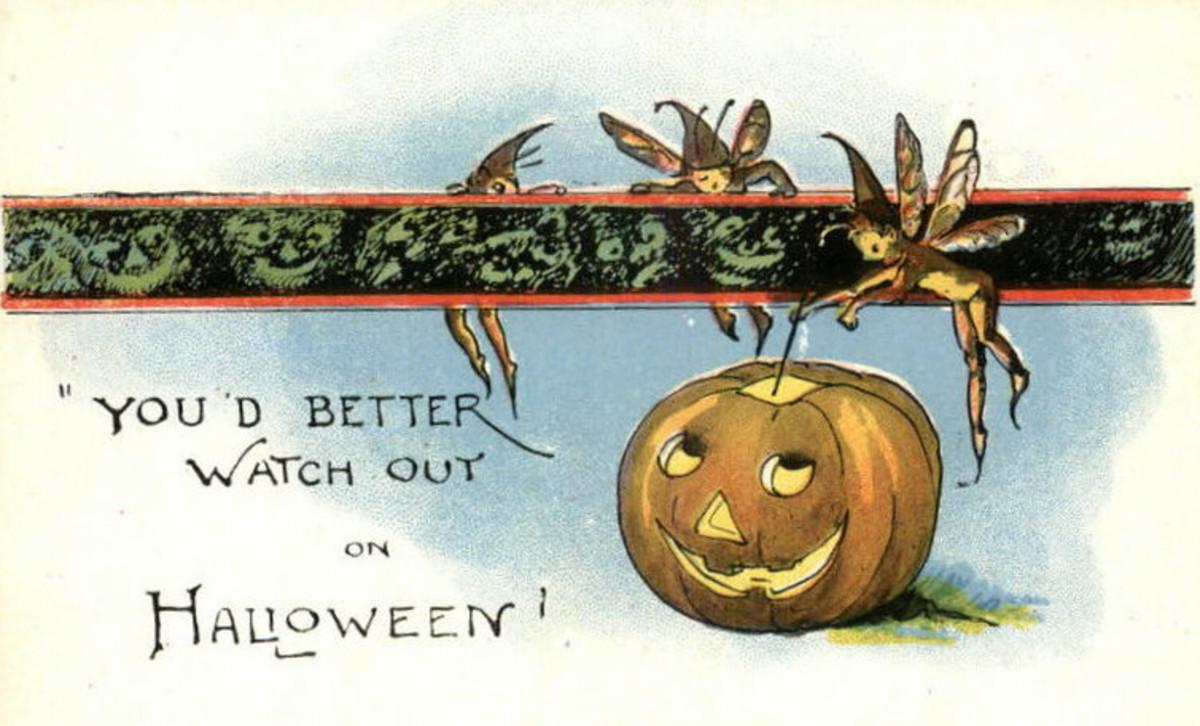 Deco Halloween Fairies
