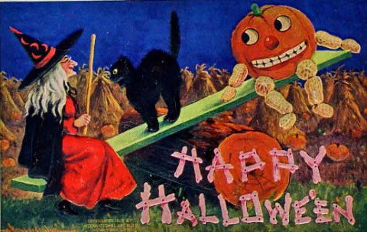Halloween Teeter Totter