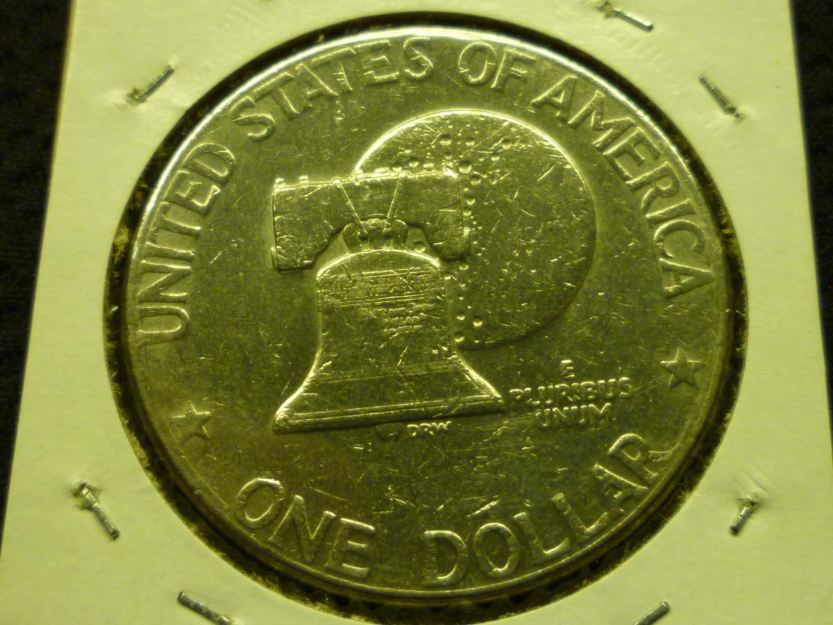 Eisenhower Bicentennial Reverse. 1776-1976