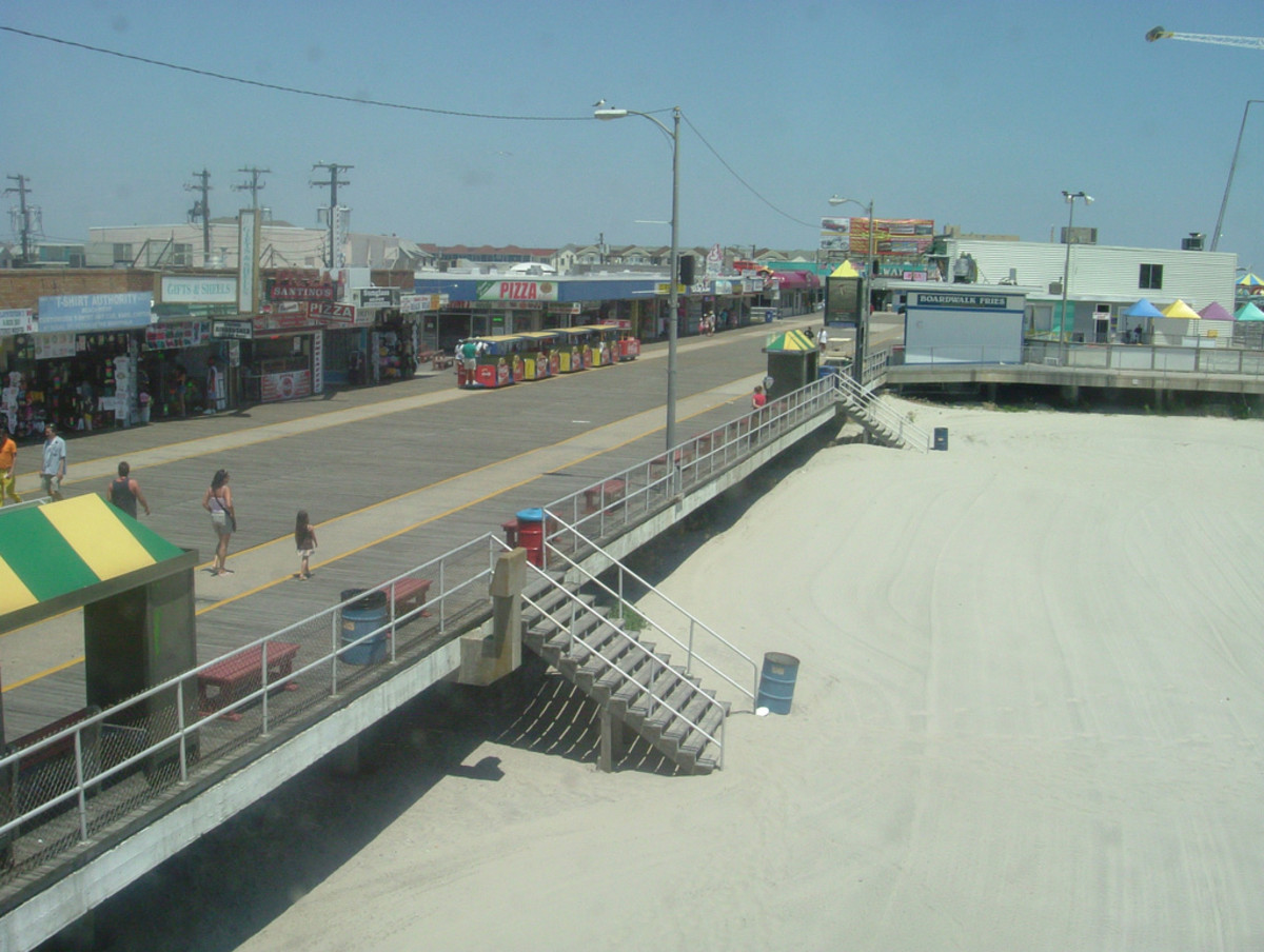 Wildwood Boardwalk fun, a great place for a vacation...