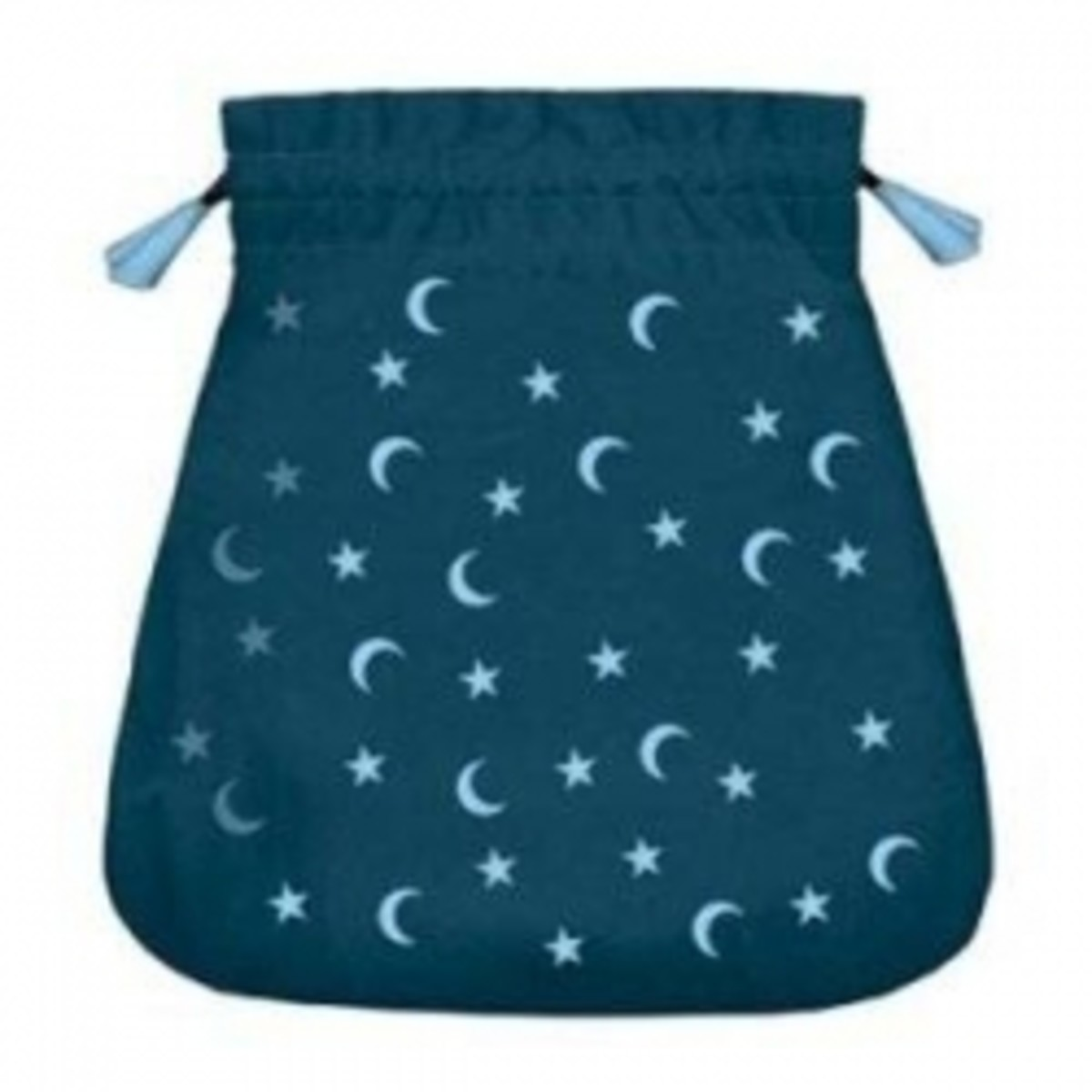 moon and stars velvet tarot bag