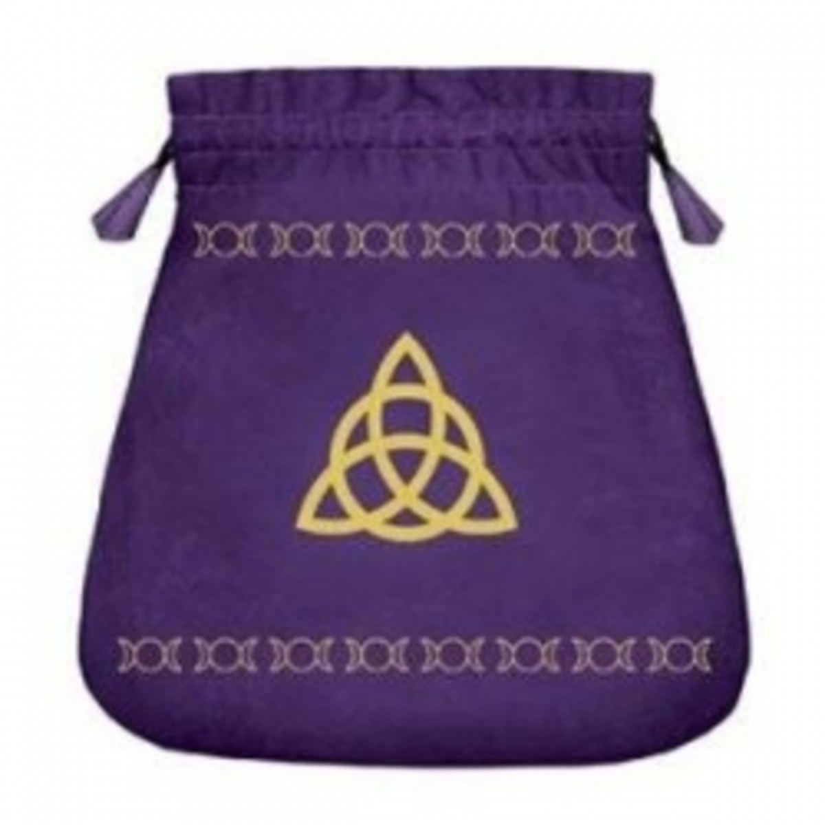 tripple goddess velvet tarot bag