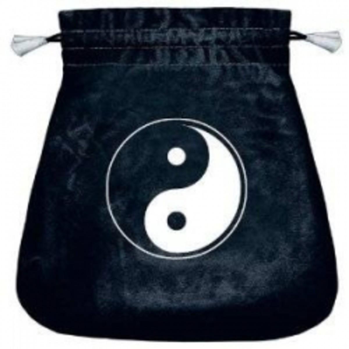 Tai Chi Velvet Tarot Bag