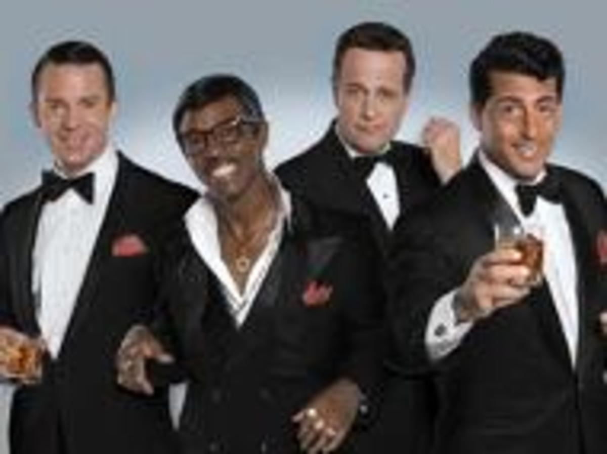 """Actors from """"The Rat Pack Is Back"""" tribute show."""