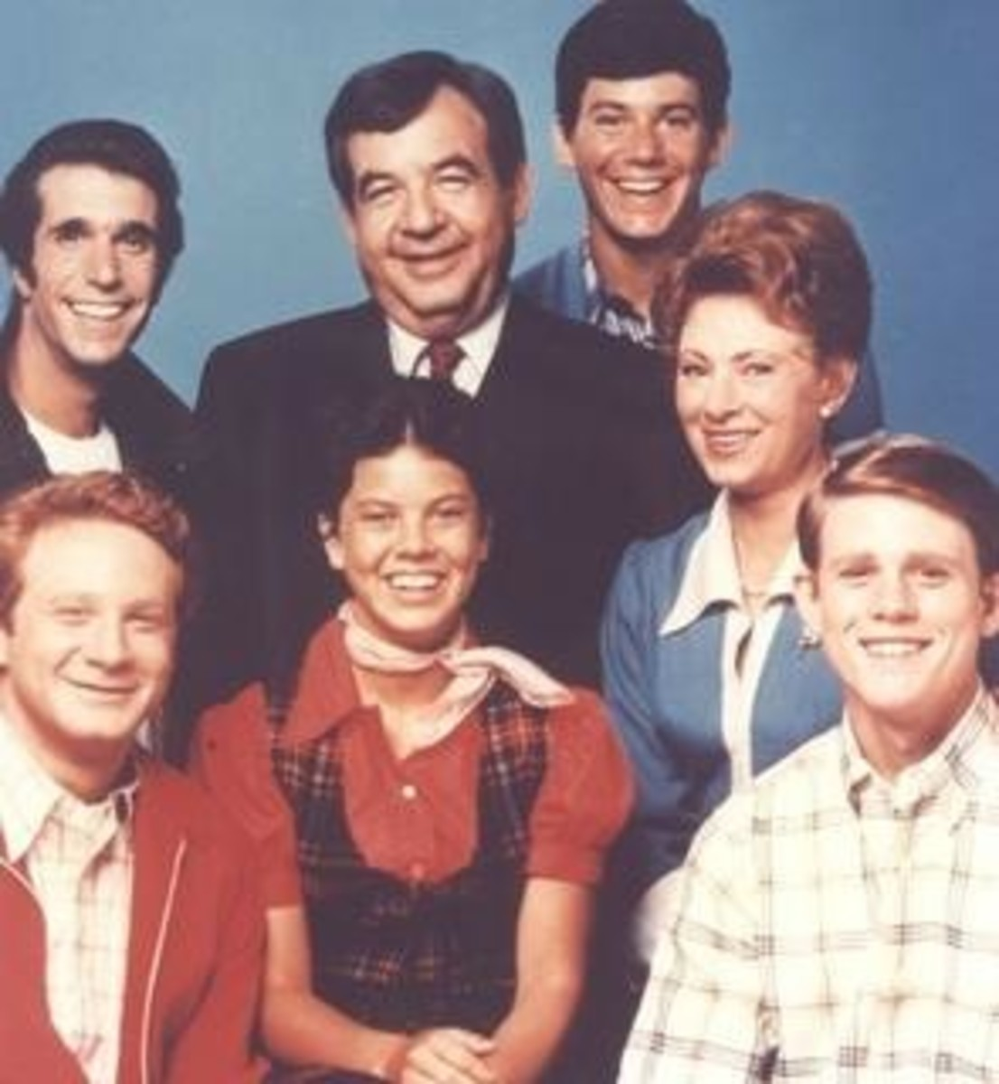 Central Cast of Happy Days