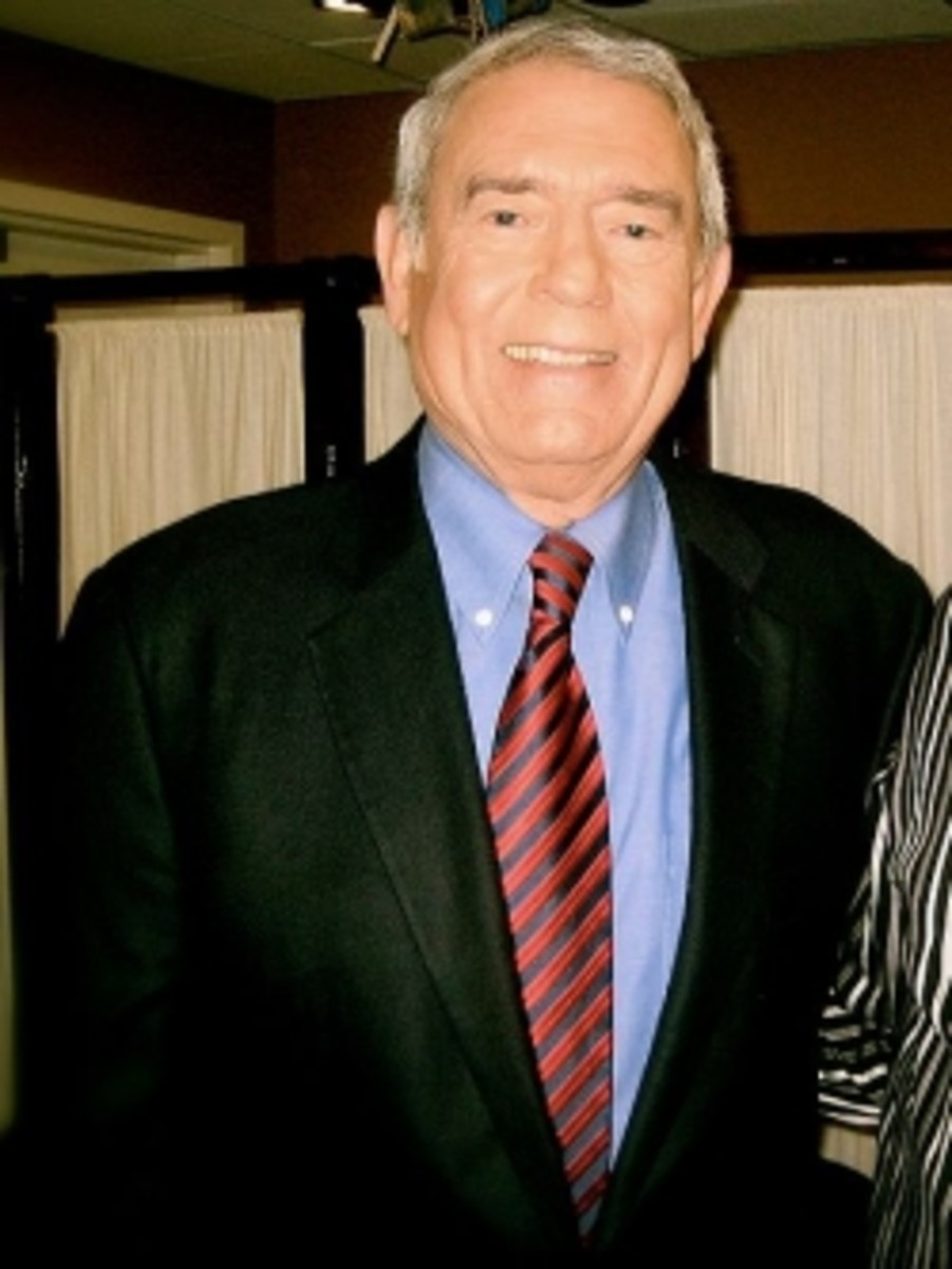 """Dan Rather"" by Del Far - Flickr. Licensed under Creative Commons Attribution 2.0 via Wikimedia Commons - http://commons.wikimedia.org/wiki/File:Dan_Rather.jpg#mediaviewer/File:Dan_Rather.jpg"