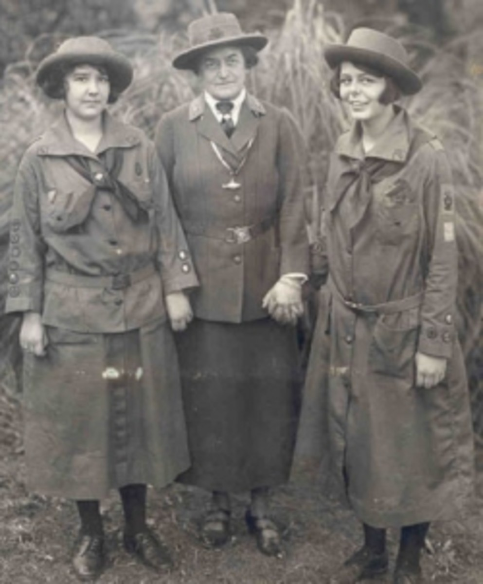 """""""Juliette Gordon Low dai"""" by unknown Original uploader was Noble Skuld the Legend Killer at en.wikipedia - Transferred from en.wikipedia; transferred to Commons by User:Rlevse using CommonsHelper.(Original text : Girl Scouts of the USA). Licensed und"""