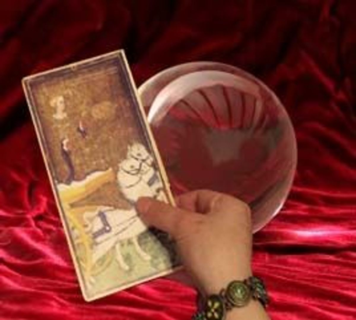 The mystic crystal? Or the occult card?