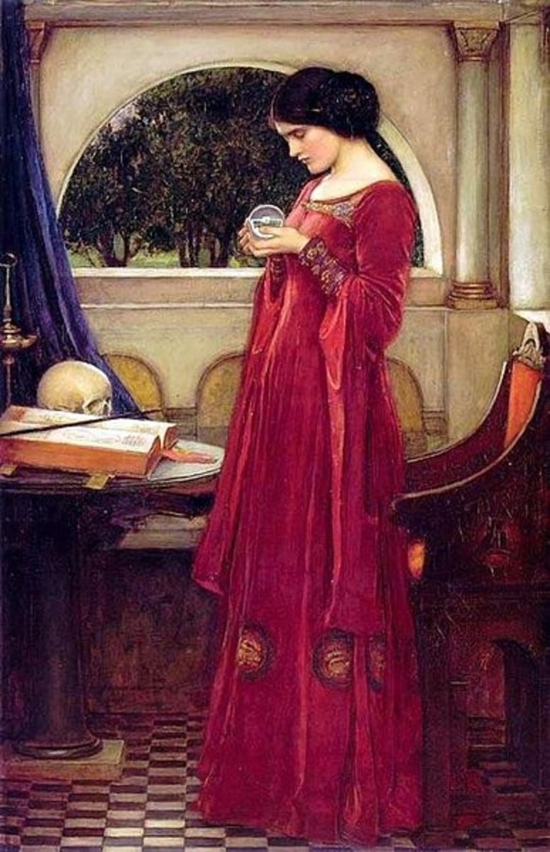 The Crystal Ball, by John William Waterhouse, courtesy of Wikipedia