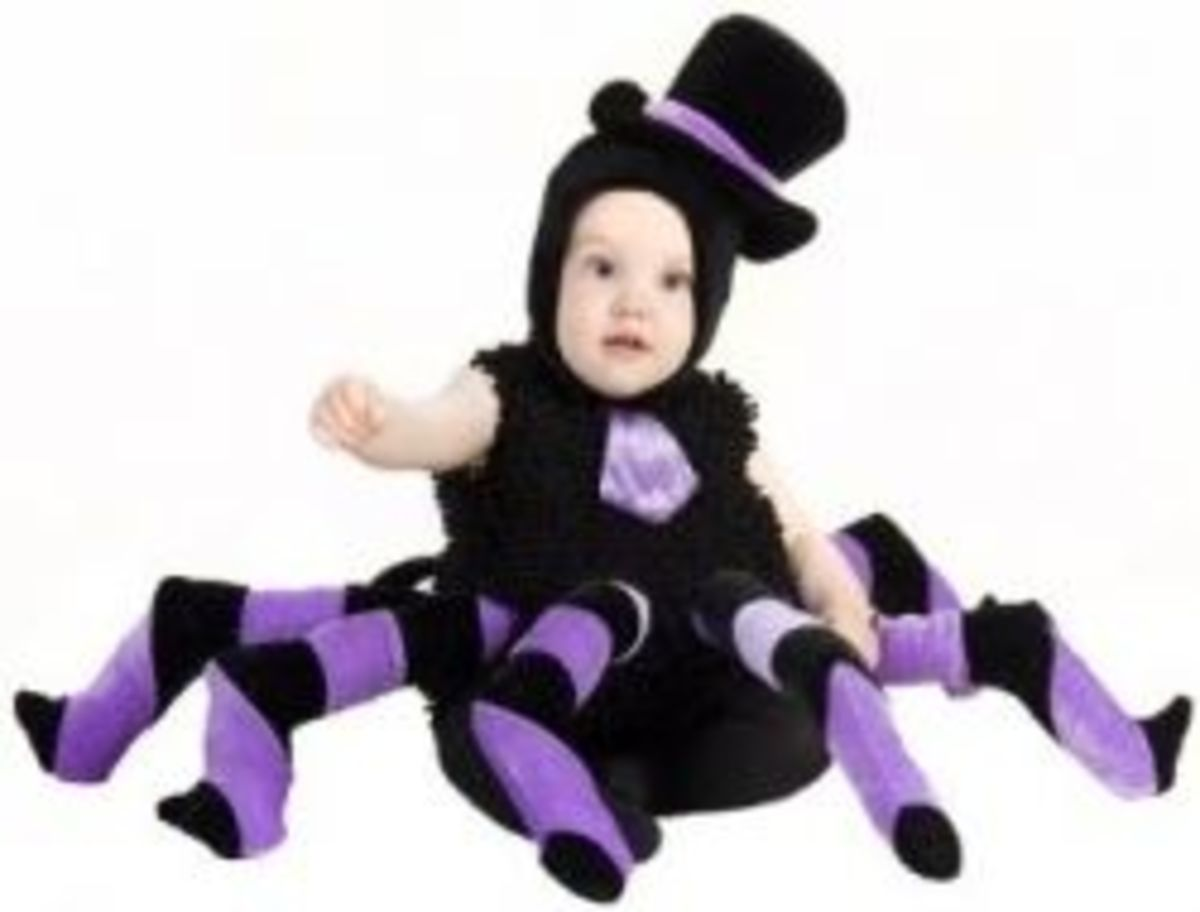 Baby and Toddler Sam Spider Costume