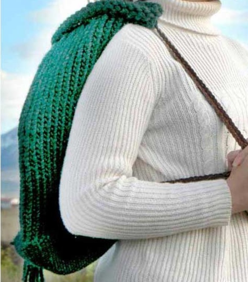 Knifty Knitter Backpack