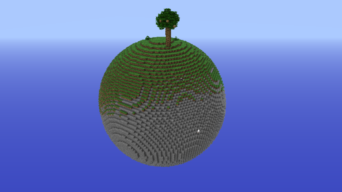 That other planet, where the trees grow glowstone leaves.