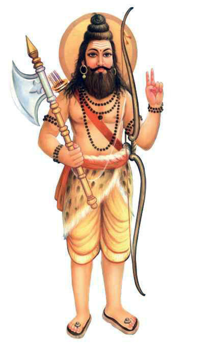 Immortals of Indian Mythology: Parashurama