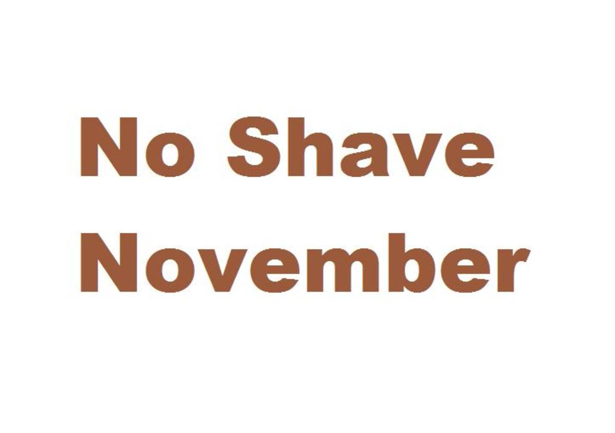 No Shave November  rules and purpose