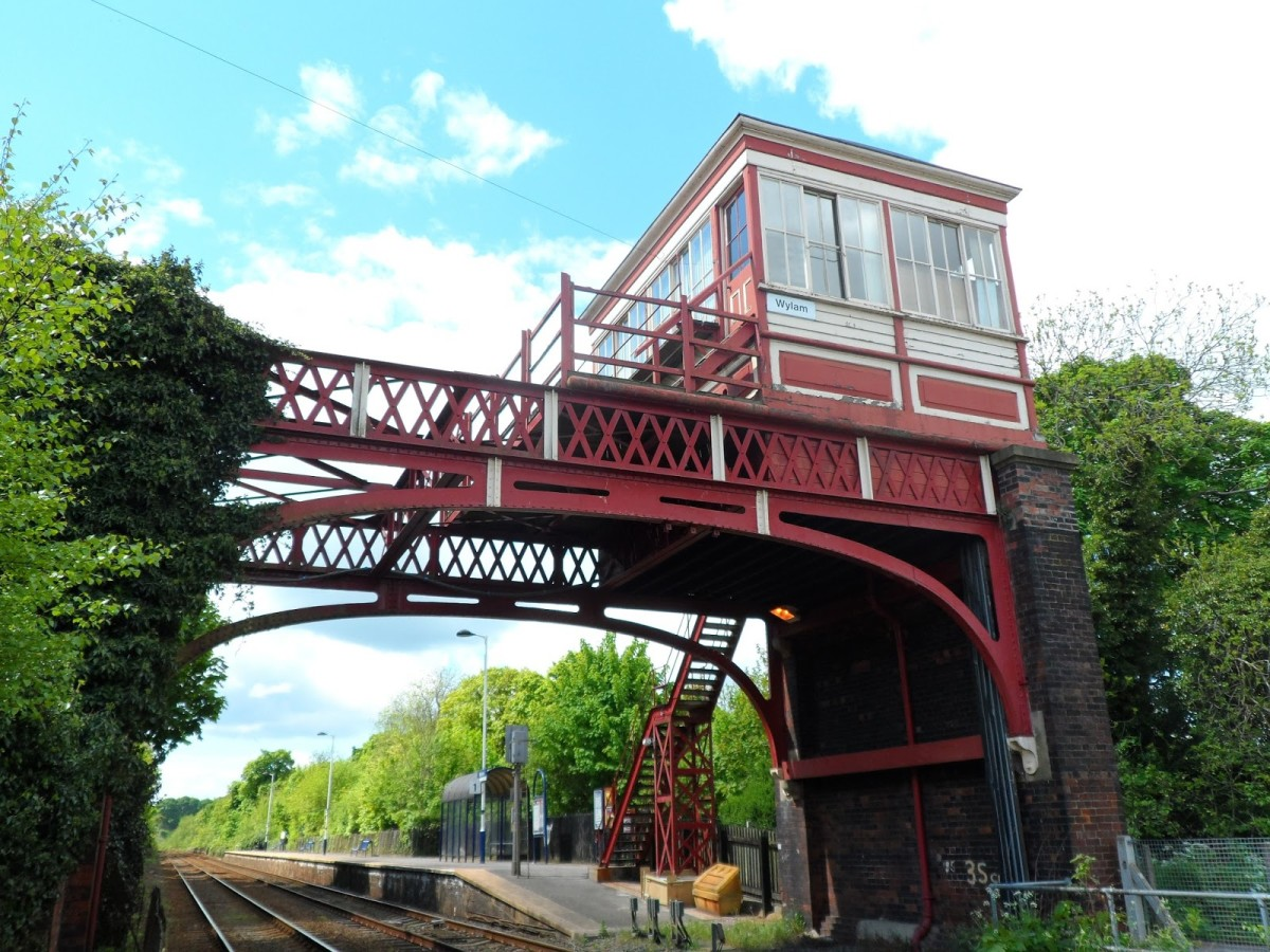 Wylam on the Newcastle & Carlisle Railway (N&CR), near where George Stephenson was born