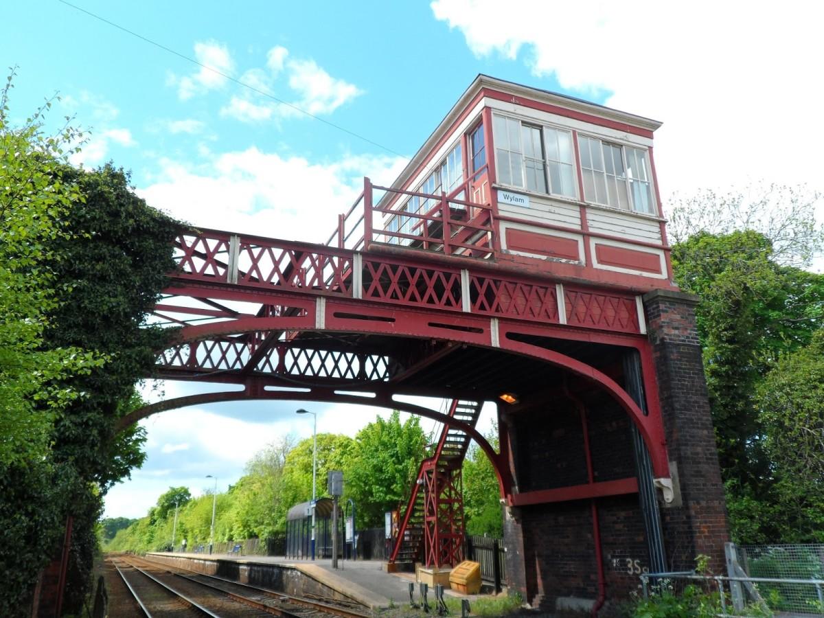 Wylam on the Newcastle & Carlisle Railway (N&CR), near where George Stephenson was born