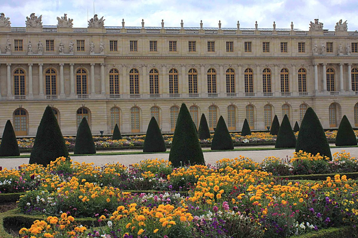 The Gardens of Versailles and the South Wing of the Palace