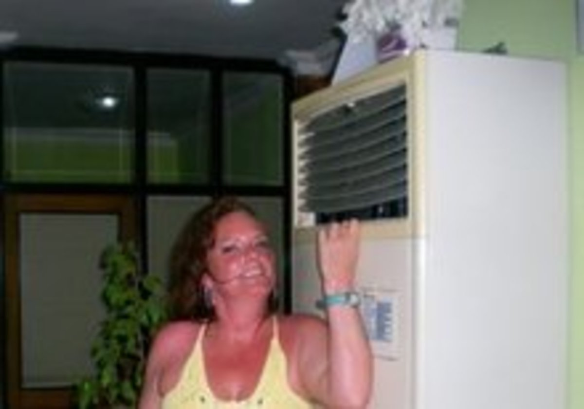 Antalya, Turkey in August. Make sure there's air conditioning in your hotel!!!