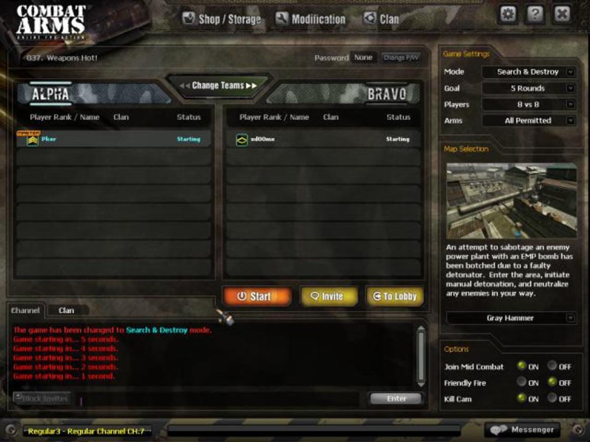 Combat Arms Gameplay
