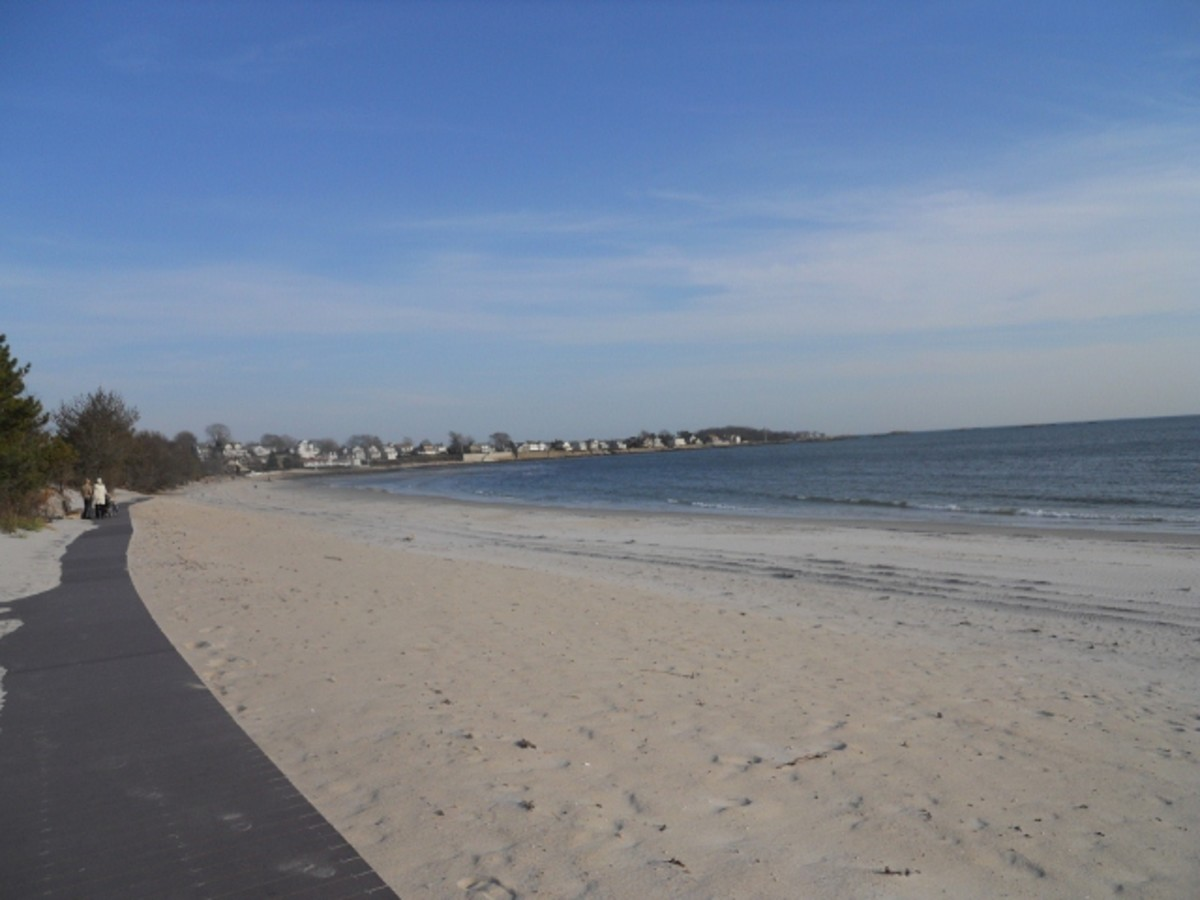 Rocky Neck - View From The Boardwalk