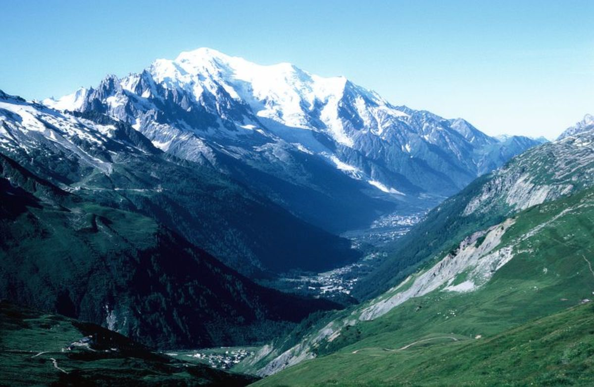 Mont Blanc, brought to you by The Alps!