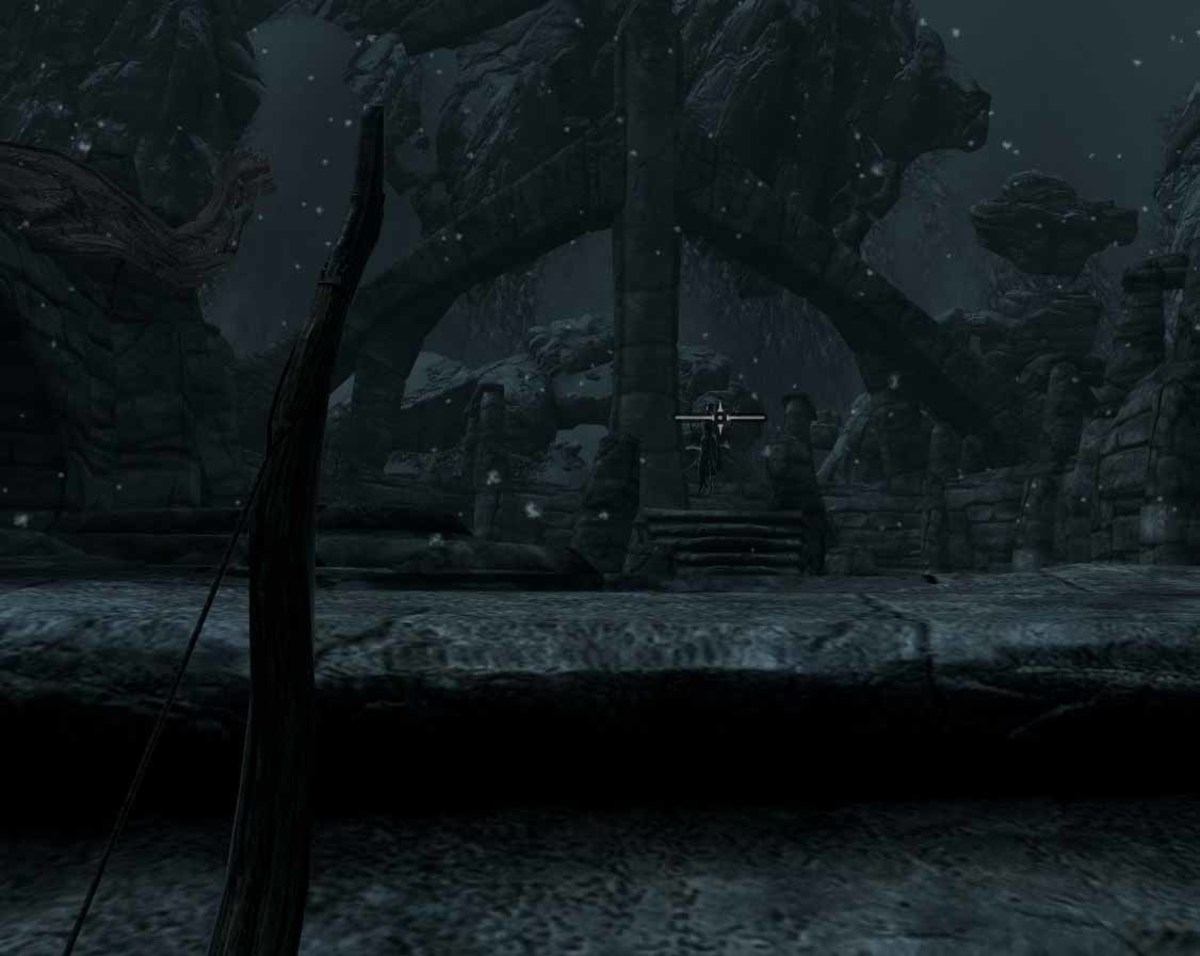 Skyrim Defeating Nahkriin - Sneak Bow Attack on Nahkriin