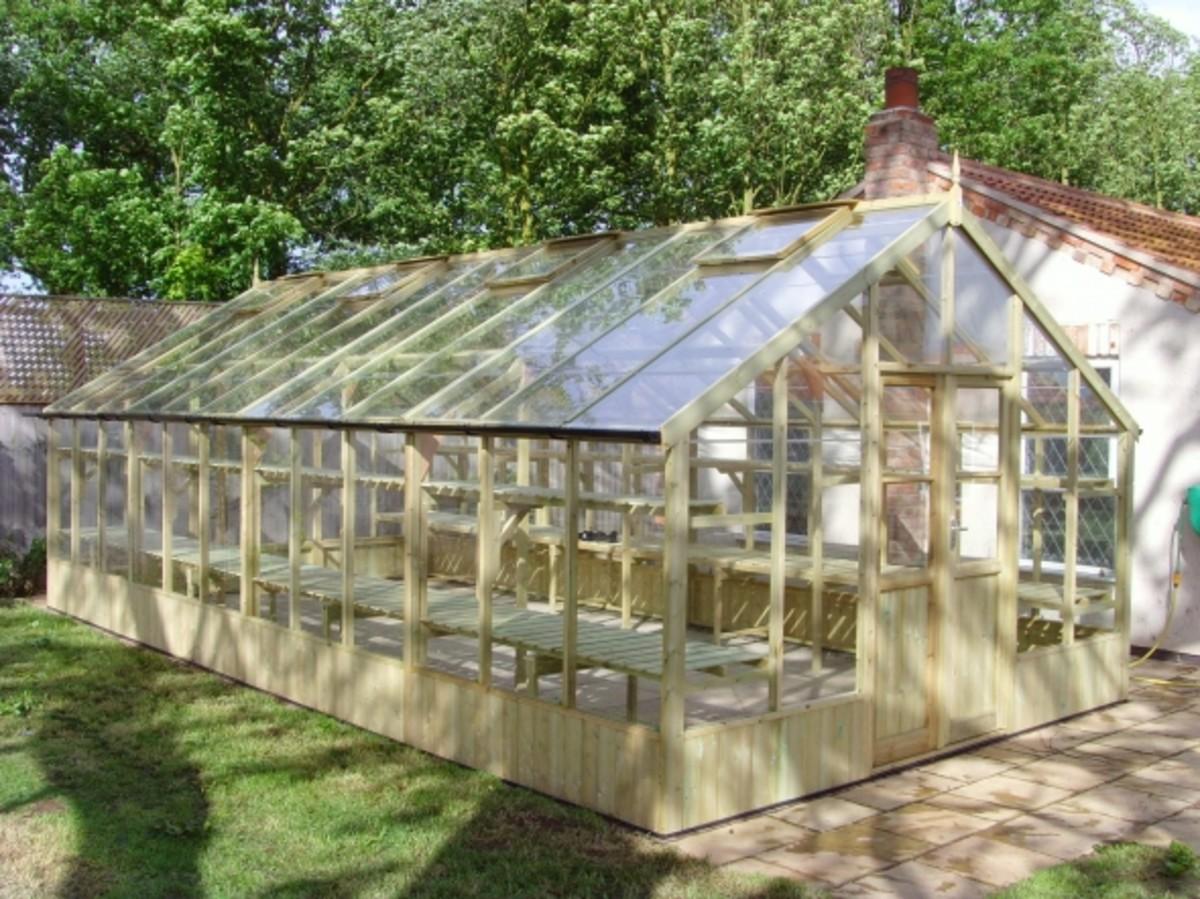 Swallow Falcon Greenhouse