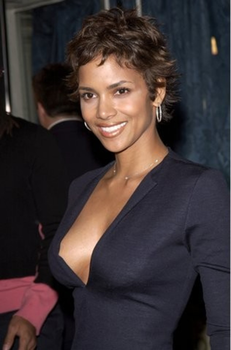 Halle is the epitome of womanly beauty...need I say more?
