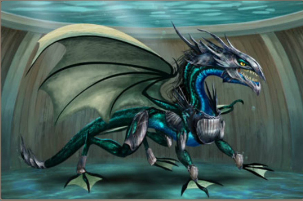 Dragons of Atlantis Water Dragon Armor Guide