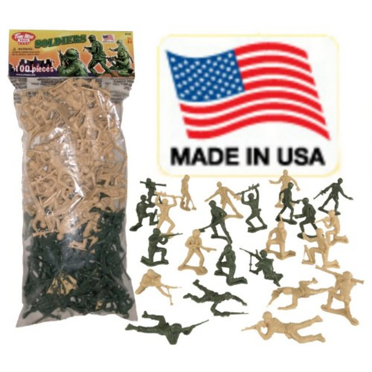 Made in USA plastic soldiers