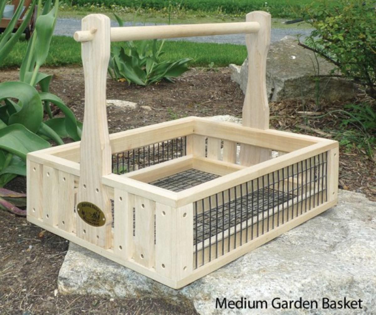Garden Basket From Cottage Craft Works. COM