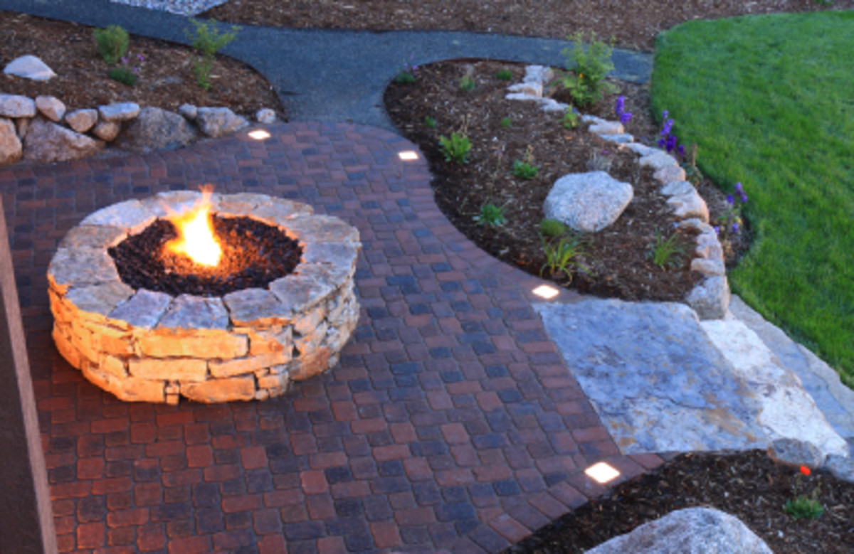 Firepits add Warmth and Light for Evening Parties